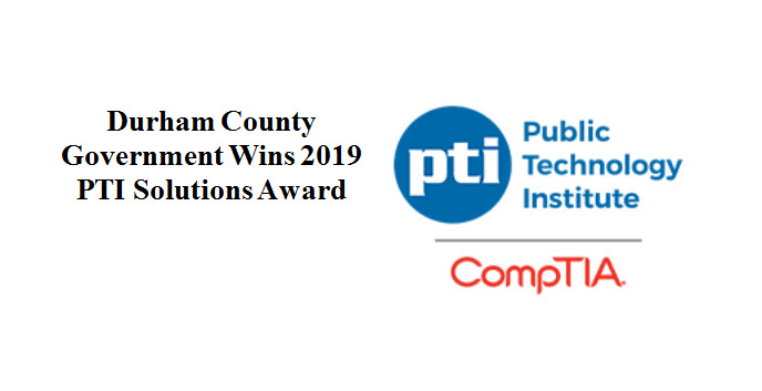 PTI Solutions Award 2019